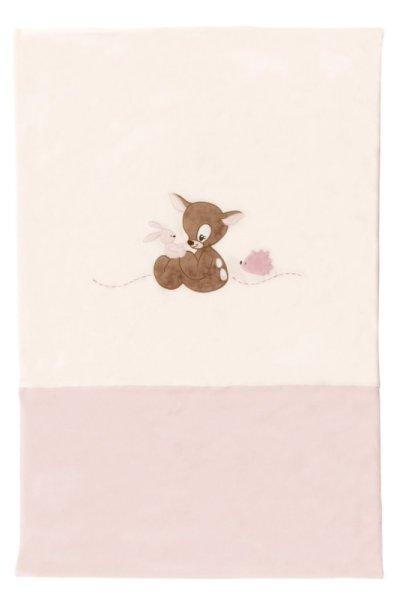 Nattou Edredon Faon Rosy Rose - 100x75 cm