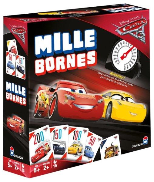 Dujardin Jeu Mille Bornes Cars 3