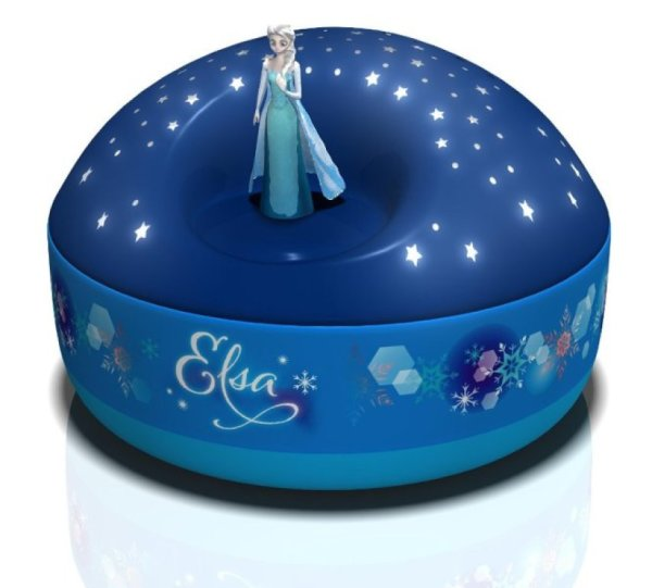 Trousselier Projecteur d'Etoiles Musical Elsa La Reine des Neiges