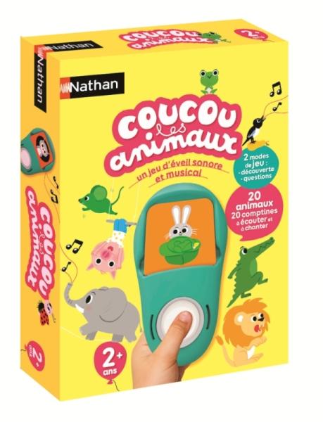 Nathan Jeux Coucou les animaux