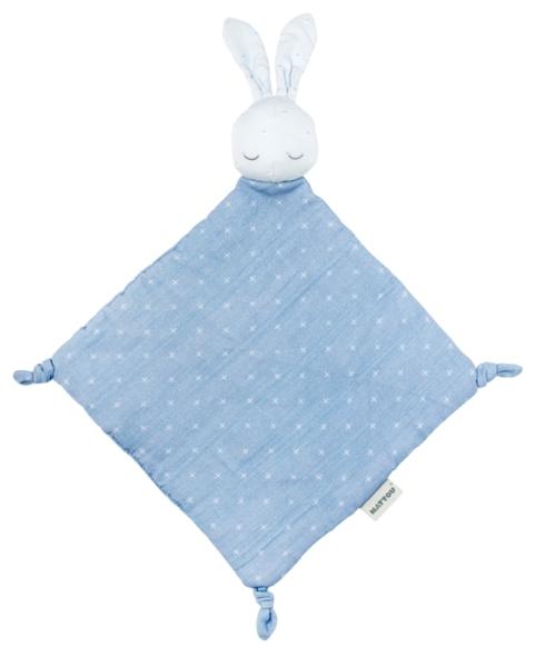 Nattou Doudou Lapin Pure Bleu