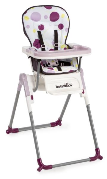 babymoov chaise haute slim prune doudouplanet. Black Bedroom Furniture Sets. Home Design Ideas