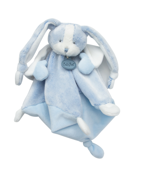 Babynat Doudou Lapin Les Toudoux Bleu