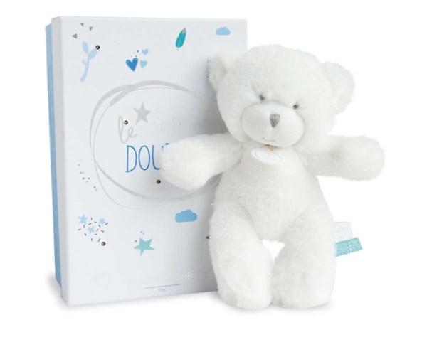 Doudou et Compagnie Peluche Ours Le Doudou Bleu - 20 cm