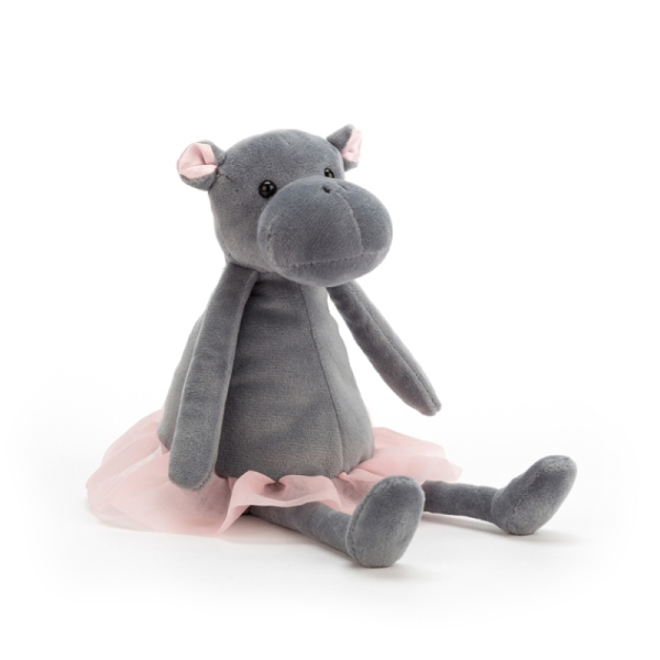 Jellycat Peluche Hippo Dancing Darcey - 23 cm