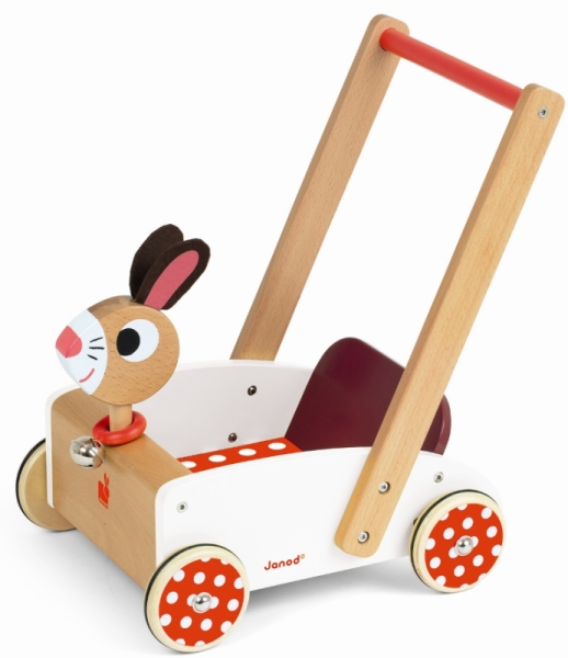 Janod Chariot Crazy Rabbit