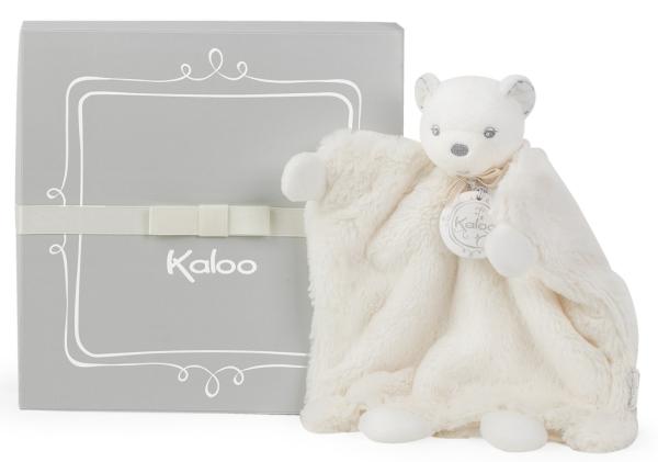 Kaloo Doudou Marionnette Ours Crème Perle