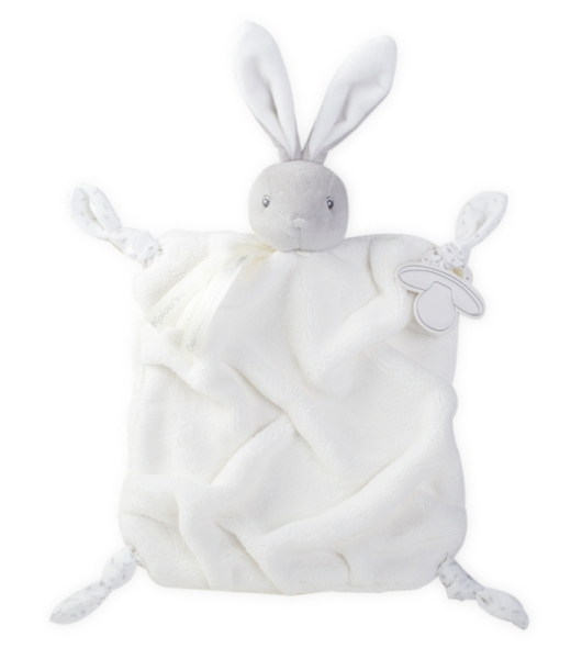 Kaloo Doudou Lapin Crème Plume - 20 cm