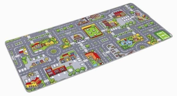 Paradiso Toys Tapis Circuit Ville - 67x100 cm
