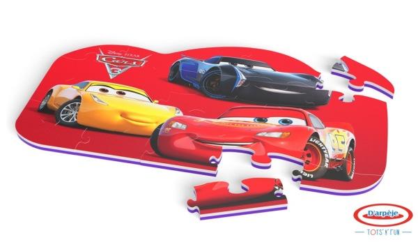 D'Arpèje Tapis Puzzle en mousse - Cars 3