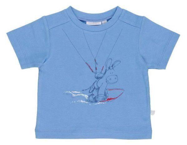 Noukies Tee-Shirt Paco Bleu BDM Boy