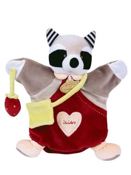 Doudou et Compagnie Marionnette Raton Laveur Isidro