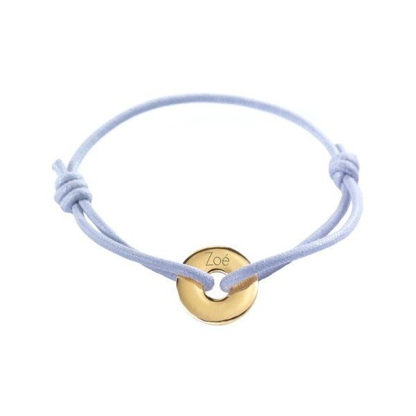 Petits Trésors Bracelet Mini Jeton Or Jaune