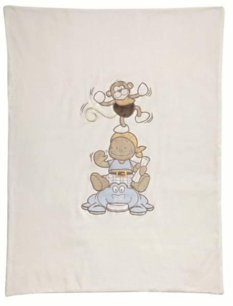 Noukies Couverture Bill et Bono - 75x100 cm
