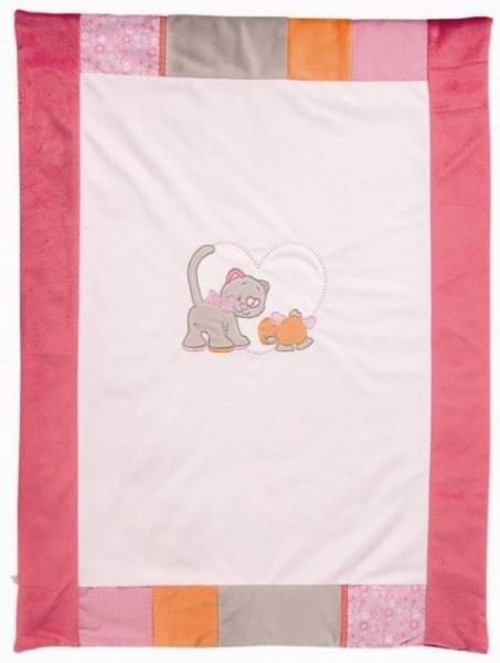 Noukies Couverture Iris et Babette 75x100 cm