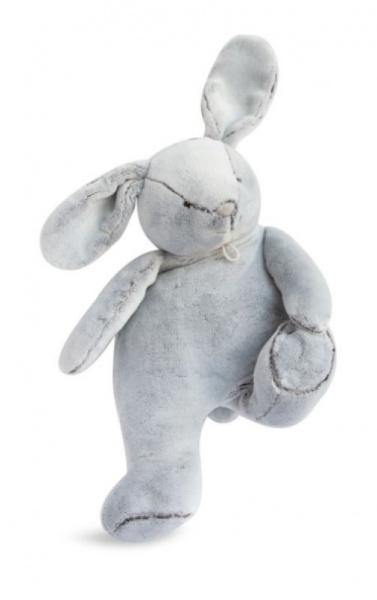 Doudou et Compagnie Peluche Pantin Lapin Perle - 35 cm
