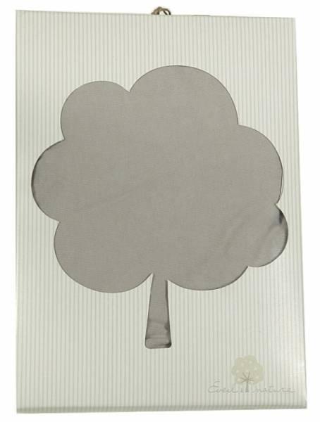 Eveil et Nature Drap Housse Biologique Taupe - 40x80 cm