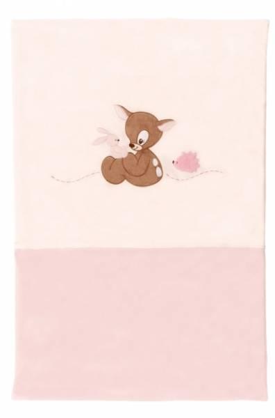 Nattou Edredon Faon Rosy Rose - 120x85 cm