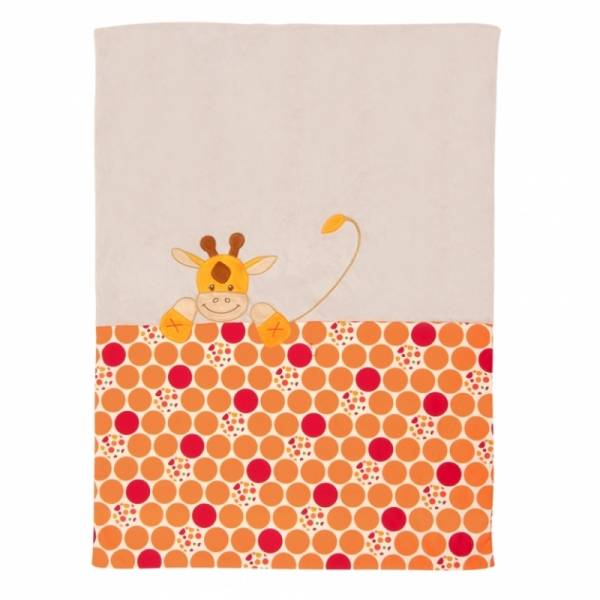 Nattou Edredon Jungle Girafe Orange - 100x75 cm