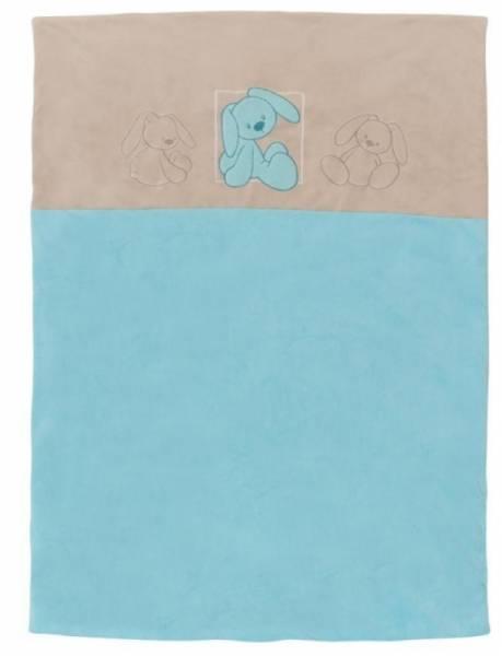 Nattou Edredon Lapidou Turquoise - 120x85 cm