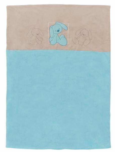 Nattou Edredon Lapidou Turquoise - 100x70 cm