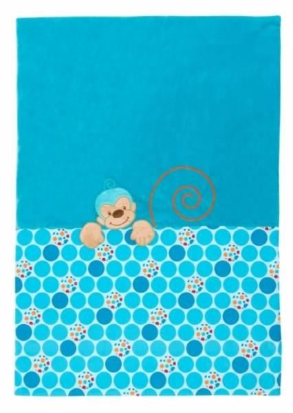 Nattou Edredon Singe Bleu - 100x75 cm
