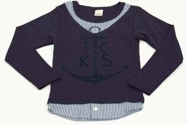 IKKS Tee-Shirt Manches Longues Cargo Kid Garçon