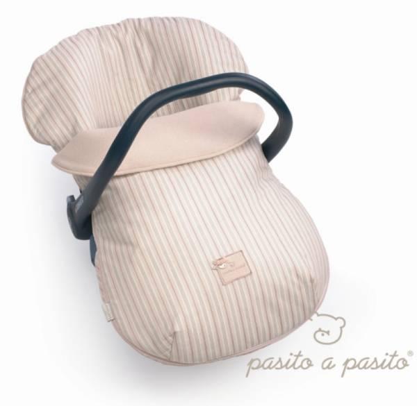pasito a pasito ensemble housse et couvre b b ray rose pour si ge auto groupe 0. Black Bedroom Furniture Sets. Home Design Ideas