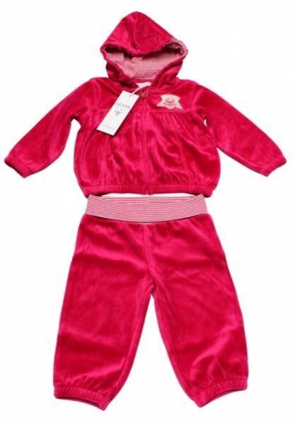 Guess Enfant Ensemble Sportswear Rose Cerise 12 mois