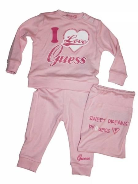 Guess Enfant Jogging Petal Rose 6/9 mois