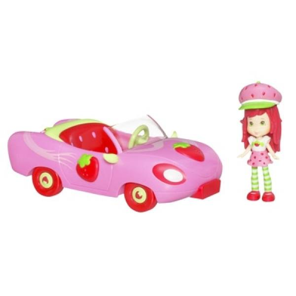 hasbro la fraisi voiture de charlotte aux fraises. Black Bedroom Furniture Sets. Home Design Ideas
