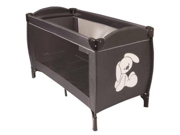 nattou lit parapluie lapidou gris blanc. Black Bedroom Furniture Sets. Home Design Ideas