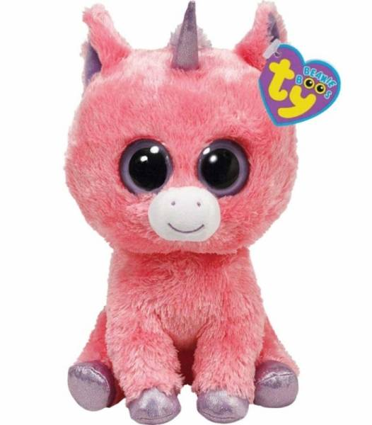 ty peluche licorne magic beanie boo 39 s 41 cm. Black Bedroom Furniture Sets. Home Design Ideas