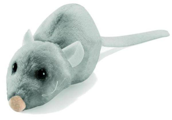 Anima Peluche Petite Souris Grise - 8 cm