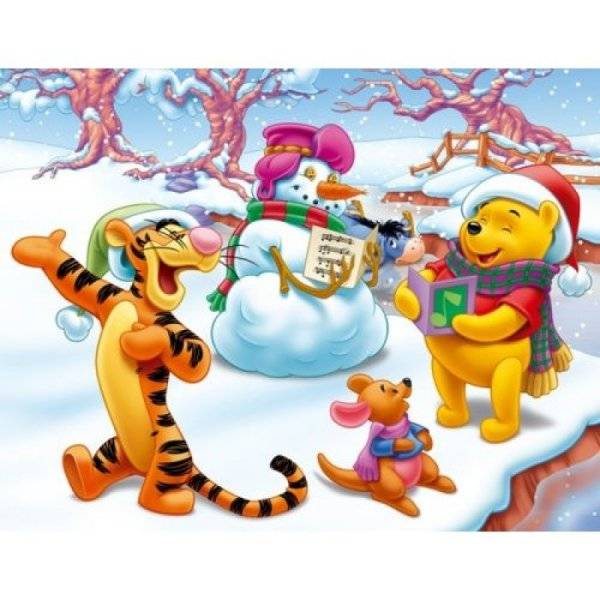 MB Puzzles 2x25 Pièces Winnie et Tigrou