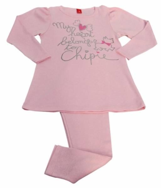 Chipie Pyjama 2 Pièces Basic Rose