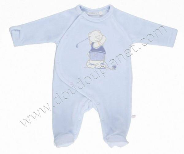 Noukies Pyjama Bleu Nouky Golf