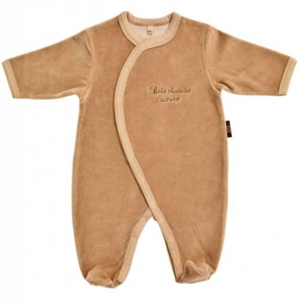 Bébé Chocolat Pyjama Chocolat Nature 12 mois