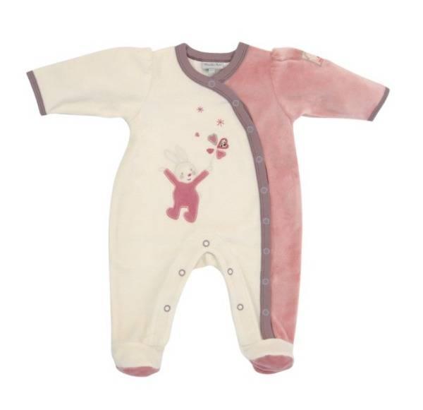 Moulin Roty Pyjama Myrtille et Capucine 3 mois
