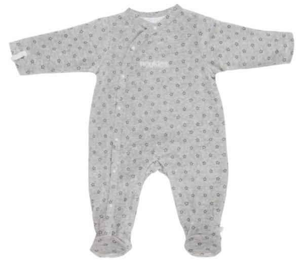 Noukies Pyjama Gris Poudre d'Etoiles - 9 mois