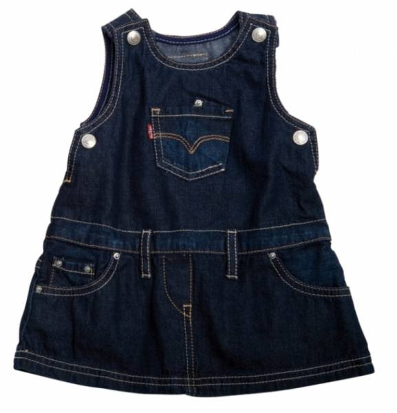 Levis Robe Jeans Maya  Fille 24 Mois
