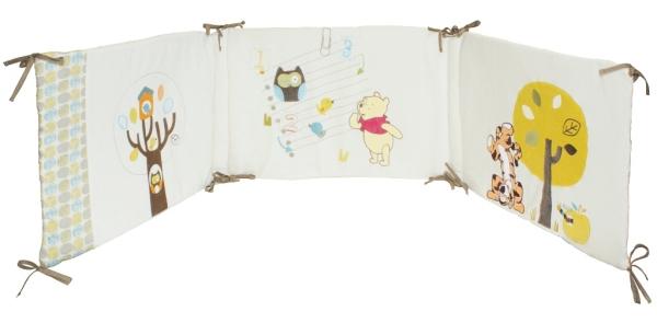 babycalin tour de lit winnie woodland doudouplanet. Black Bedroom Furniture Sets. Home Design Ideas