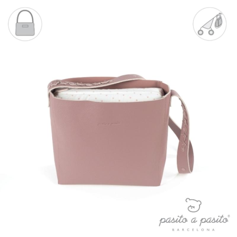 fasciatoio A Borsa Pasito Amelie rosa Small wfIxxpFHq