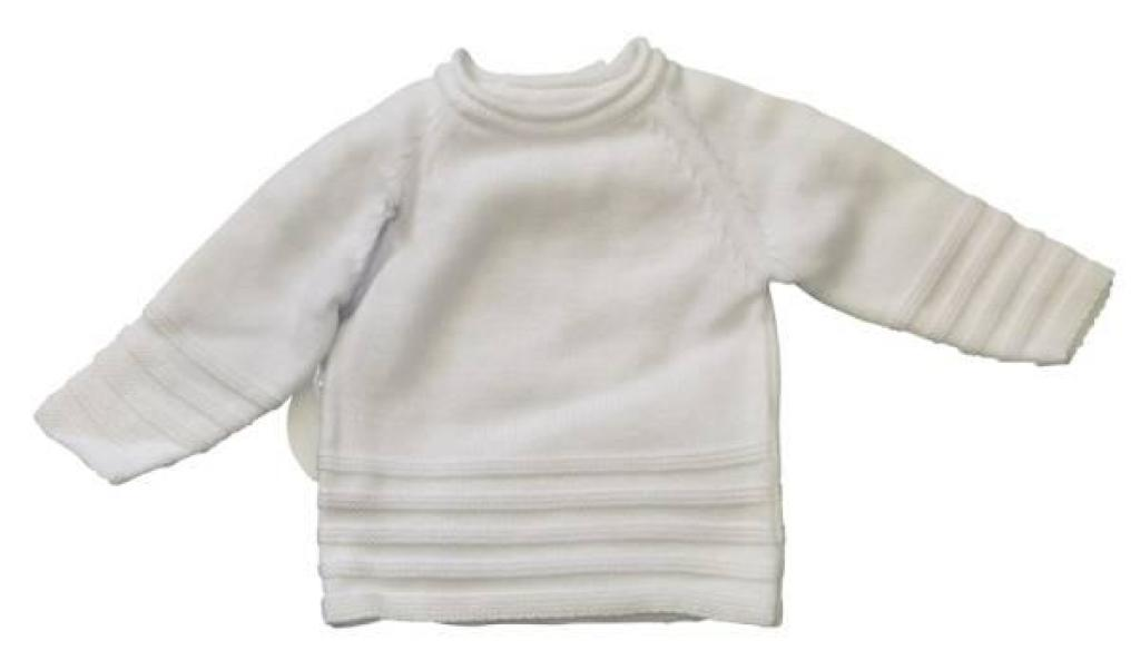Absorba Brassière Tricot Blanche Naissance