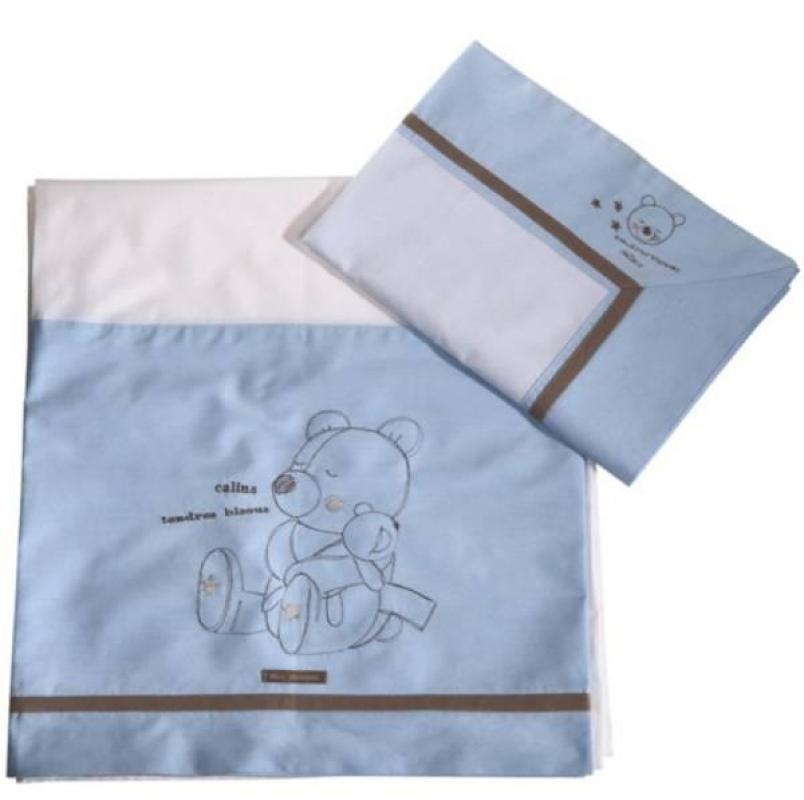 Absorba drap de lit et taie calins ciel for Marque de drap de lit