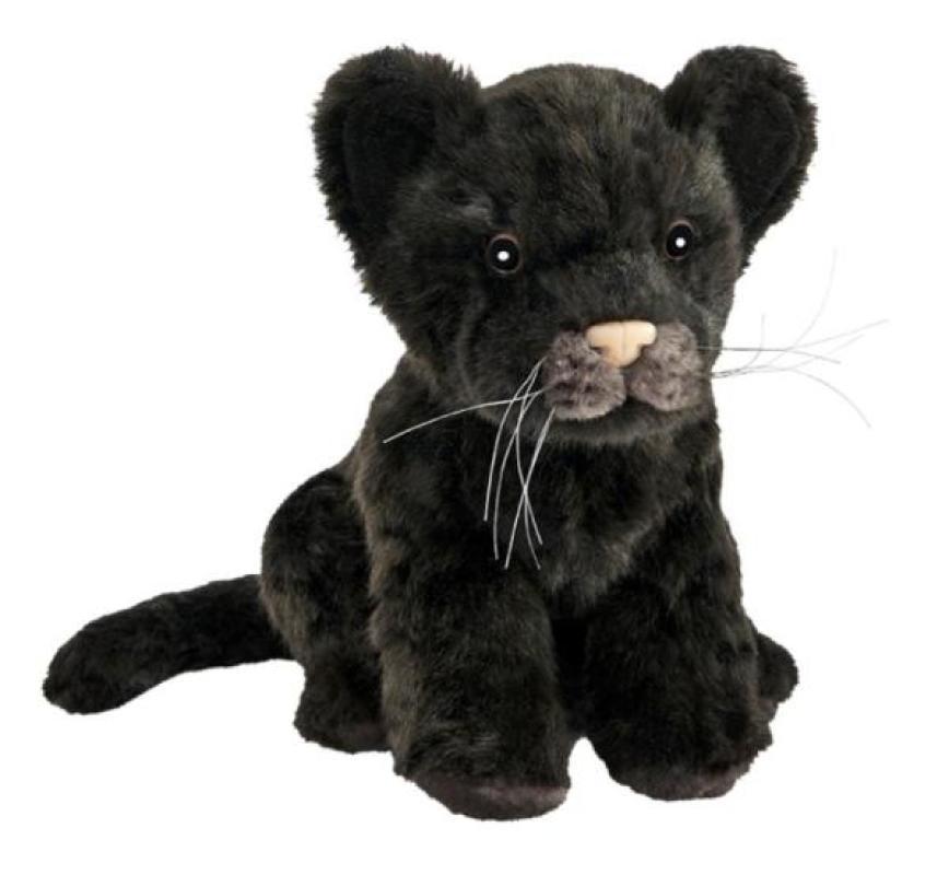 Anima Peluche Bébé Jaguar Assis - 18 cm