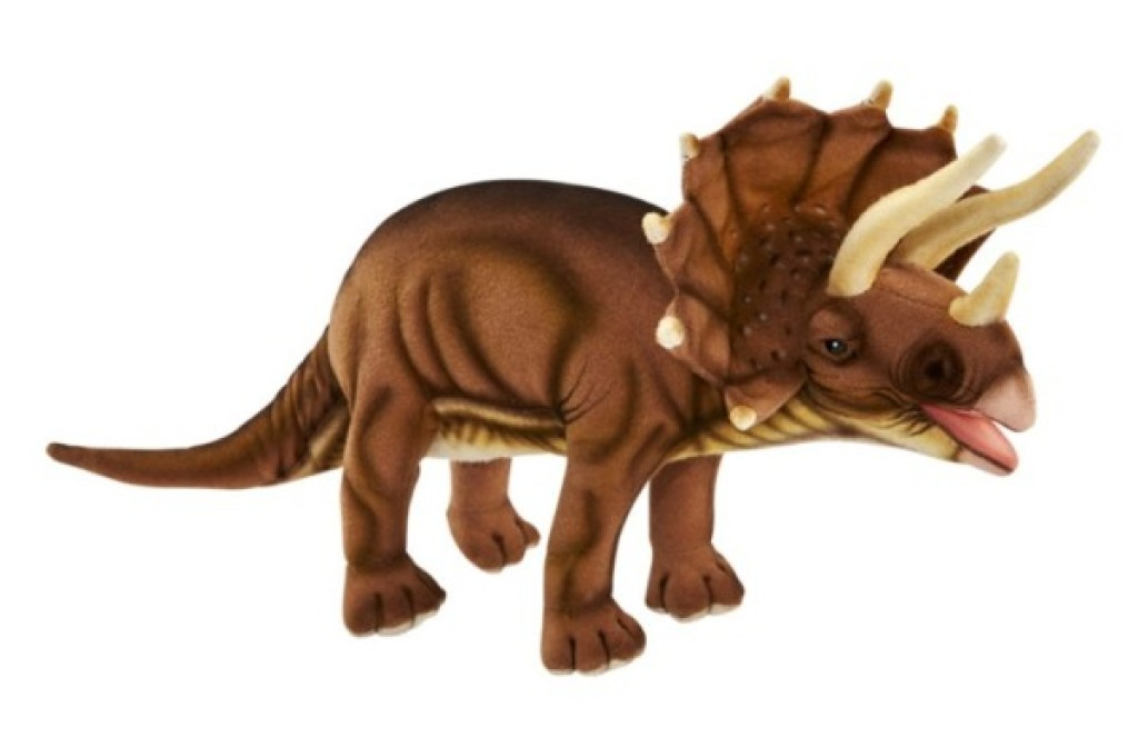 Anima Peluche Tricératops - 40 cm