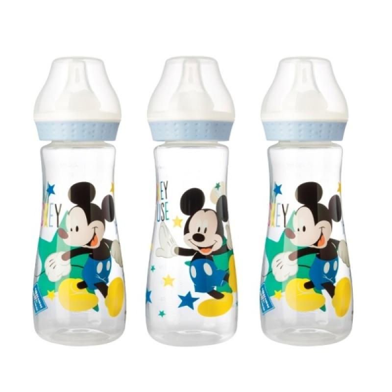 Babycalin Lot 3 Biberons 250 ml Mickey