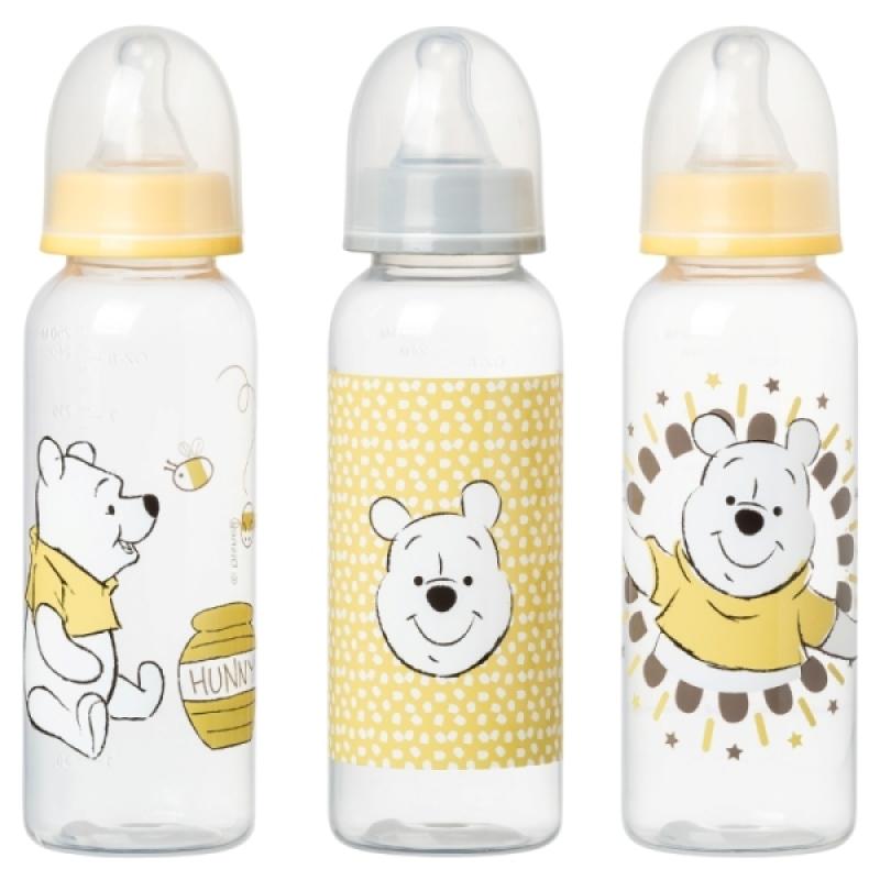 Babycalin Lot 3 Biberons 250 ml Winnie