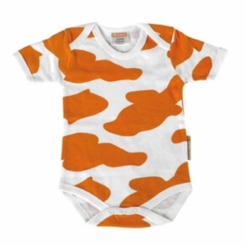 Babymoov Body Baby Vache Blanc-Orange